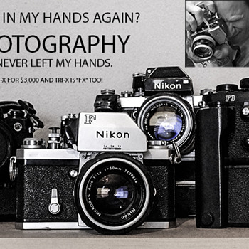 "Nikon ""Pure Photography"" ~ It NEVER left my hands! - Cameras"