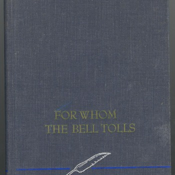 Earnest Hemingway For whom the Bell Tolls - Books