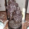 Antique German Terracotta Statue Figurine
