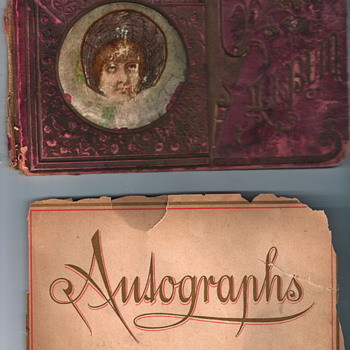 Grandpa&#039;s Autograph Book, c. 1888 - Books