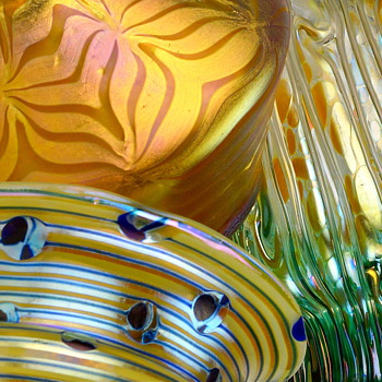A collections of shapes, styles, and colors by Loetz - Art Glass