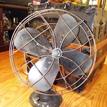 1940's Emerson Electric St. Louis MO Oscilating Fan - Tools and Hardware