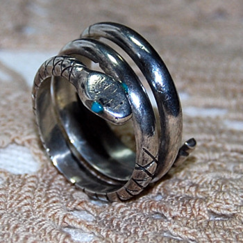 This One's for Hunter -- Lover of Snake Rings