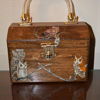 Wooden Folk Art Handbag/Purse-(Part 1)
