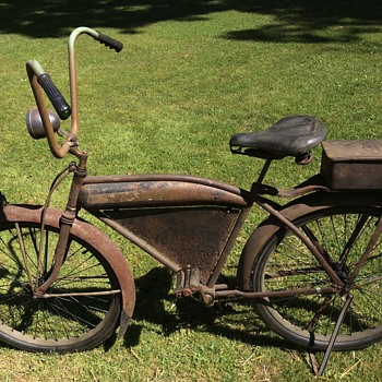 "Cleveland Welding Co. prewar Roadmaster 26"" Pit bike Rat Rod bicycle - Outdoor Sports"