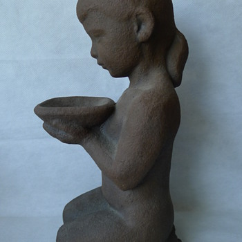 Unknown Danish Sculpture - Art Pottery