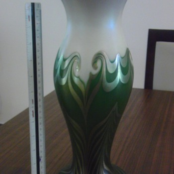 Wedding Vase - Art Glass