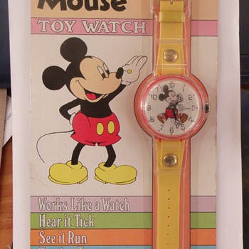 Marx Mickey Watch 1977 - Wristwatches