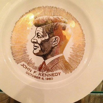 JFK Dinner plate  - China and Dinnerware