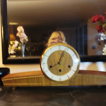 Art Deco Mantle Clock - Art Deco