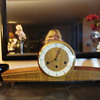Mid Century Modern Art Deco look Mantle Clock