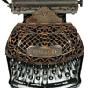 Ford typewriter - 1895  (antiquetypewriters.com)