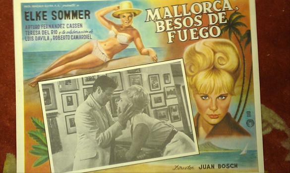 Spanish Film Bahia De Palma 1962 Mexican Lobby Card