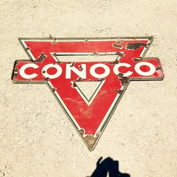 Rough Conoco - Petroliana