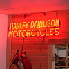 Vintage Harley Neon Sign