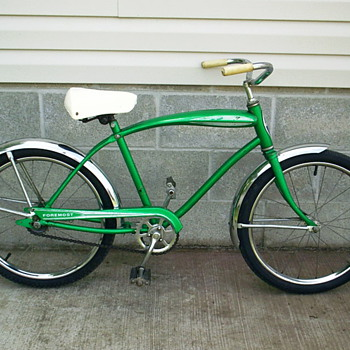 JC Penney Foremost 20 in. convertible tank-bike.