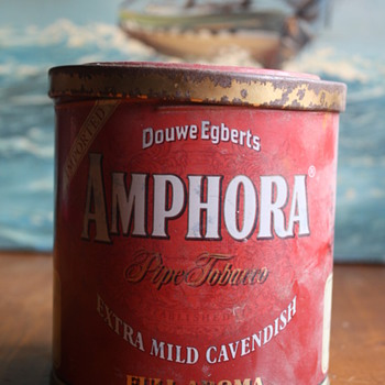 Amphora Tobacco Tin - Advertising