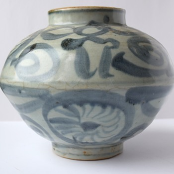 Late Yuan or Early Ming Dynasty Jar