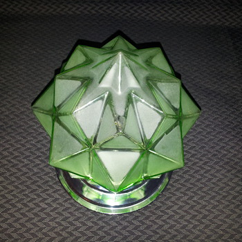 Star shade globe - Art Glass
