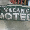 1920's Neon NO VACANCY MOTEL sign RARE! 2-sided