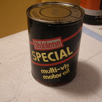 OHIOLENE SPECIAL OIL CAN