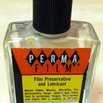 Perma Film: Preservative and Lubricant - Cameras