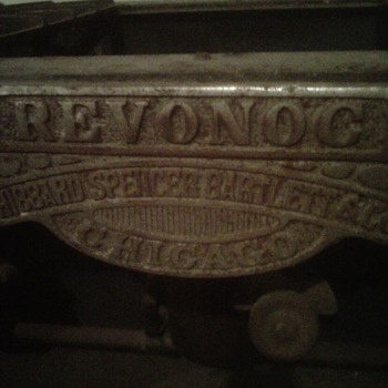 Revonoc HIBBARD, SPENCER, BARTLETT & CO. Stove