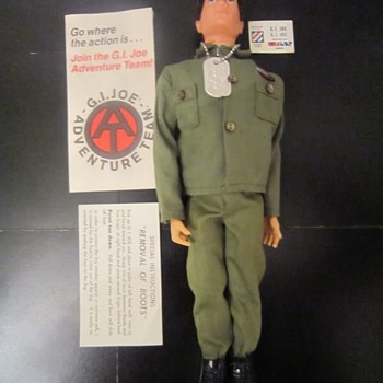 1970 Hasbro GI Joe Man Of Action All Original In Box - Toys