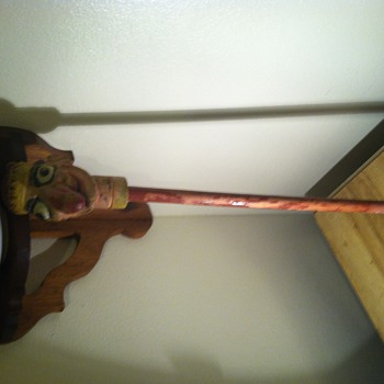 Wooden punch puppet