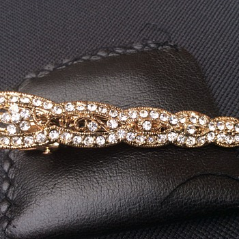 Vintage hair clip  - Fine Jewelry