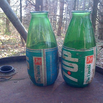 Discontinued 7up bottles? - Bottles