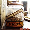 1920's Curtiss Candy Co. Chicago...Chico's Spanish Peanuts Jar...only 5 cents