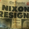 The Register Nixon Resigns