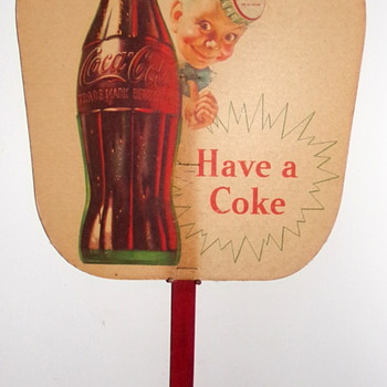 1950's Coca-Cola Fan (Relapse) - Coca-Cola