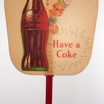 1950's Coca-Cola Fan (Relapse)