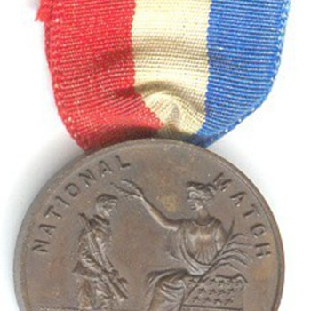 Camp Perry Advertising Medal