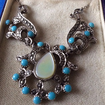 Art Deco necklace - Fine Jewelry