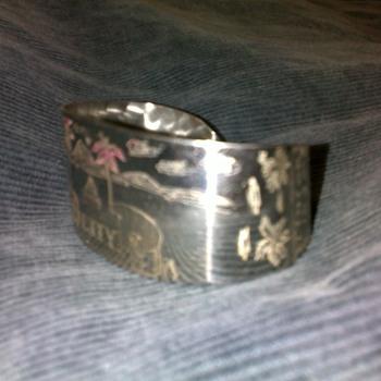 Bracelet from Tinian Island - 1945