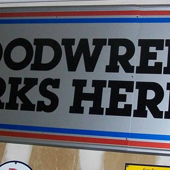 1980 new old stock sign - Signs