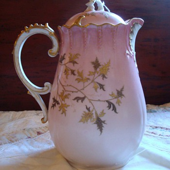 My Favorite Limoges Chocolate Pot....so far!