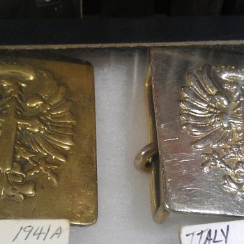 Spanish Army Belt Buckles Age? - Military and Wartime