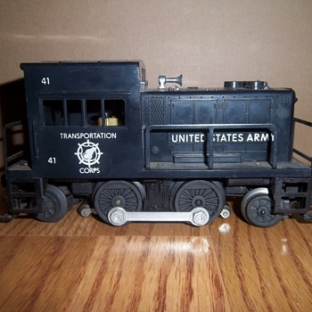 Lionel Trains Collection- United States Army Corps 41 - Model Trains