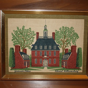 Vintage Colonial Williamsburg Prints