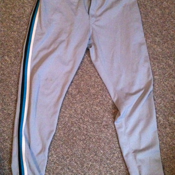 Florida Marlins Game used pants .. #51  - Baseball