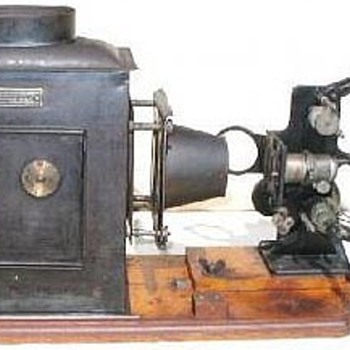 BIOSCOPE PROJECTOR BUCTHERS EMPIRE NO ONE 1902 - Cameras