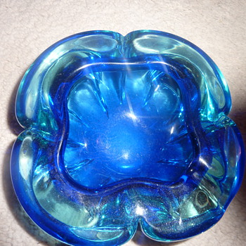 murano geode bowl ??  - Art Glass