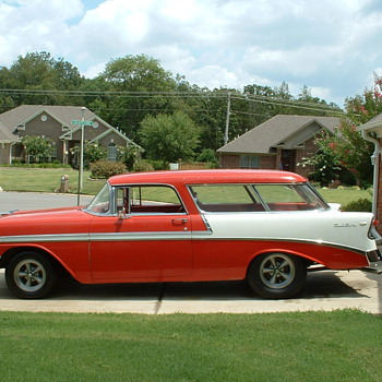 My &#039;56 Nomad, owned since 1991