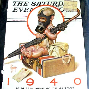 LEYENDECKER: WW II SATURDAY EVENING POST COVERS - Paper