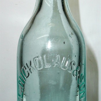L. Nickolaus & Son Soda Bottle
