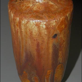 Henri de Vallombreuse, Ecole de Carriès , Carved Vase - Art Nouveau